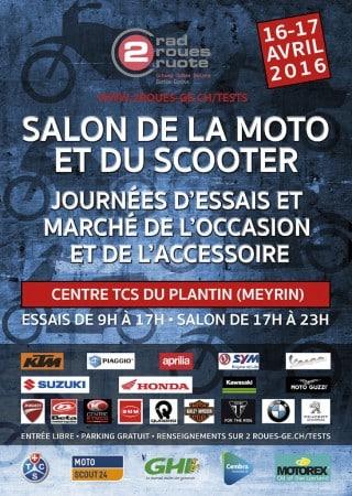 Salon de la moto et du scooter de Genève