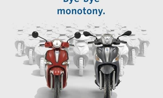 bye-bye monotony