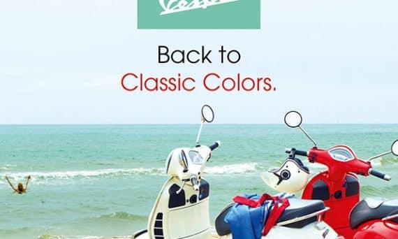vespa classic colors