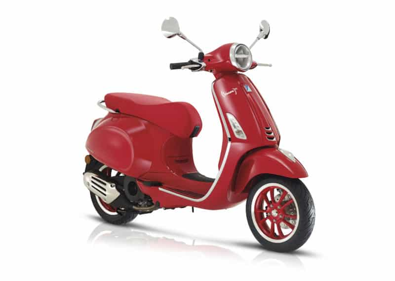 vespa primavera red